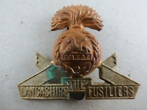 Military-Cap-Badge-The-Lancashire-Fusiliers-British-Army-Infantry