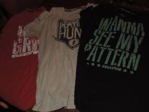 Lot-of-4-Gongshow-hockey-shirts-mens-medium