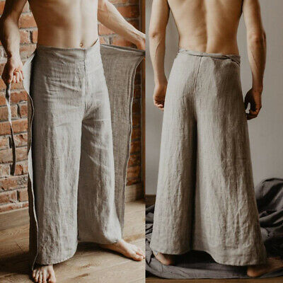 2 tones selected choice of Thai Fisherman Pants Yoga and meditation wrap trousers