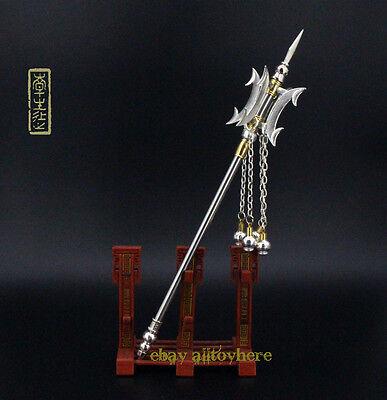 1/6 Legend of Qin Chinese sword 法杖 Knight Heaven Sword MONK D3 metal 26cm