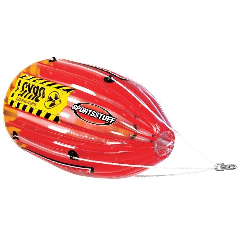 Sporttuff Gyro 1 Rider Spinning Inflatable Towable WaterSport Tube Ringo