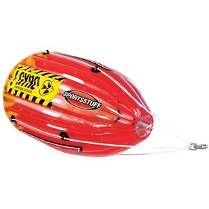 Humour Sportsstuff Gyro 1 Rider Filature Tube Tractable Gonflable Sports Nautiques Ringo-afficher Le Titre D'origine Grandes VariéTéS