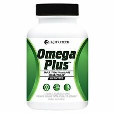 Omega Plus 4x Strength Complete Fish Oil Supplement with Omega 3's EPA & DHA