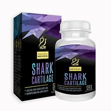 ACTIF SHARK CARTILAGE 1000mg - 100% Pure, Made in USA, Ocean Cleaned