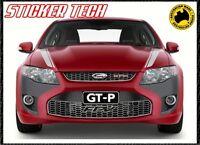 FORD FALCON FG GS XR8 GT GTP BONNET STRIPE STICKER DECAL SET SUITS BOSS 335 FPV
