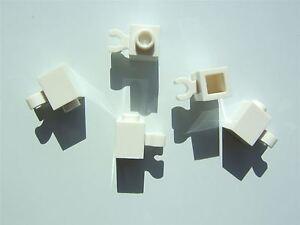 ,20 parts Lego white brick 1x1 3005