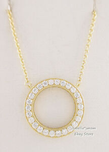 Details about Authentic HEARTS OF PANDORA Shine Necklace 18K YELLOW GOLD  Plated 367121CZ w BOX