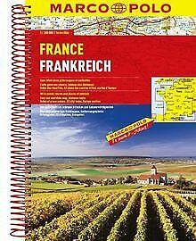 MARCO POLO Reiseatlas Frankreich 1:300.000 | Buch | Zustand gut
