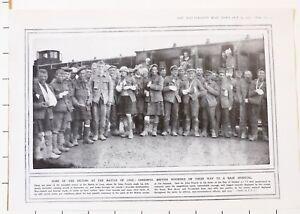 1915 Première Guerre Mondiale G.mondiale 1 Imprimé Vainqueurs à Bataille De Loos