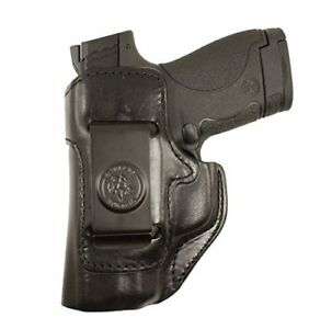DeSantis-Inside-Heat-Waistband-Holster-Ruger-LCP-380-Leather-Black