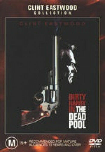Dirty Harry Dead Pool [Region 4] - DVD - Free Shipping. Good Condition.