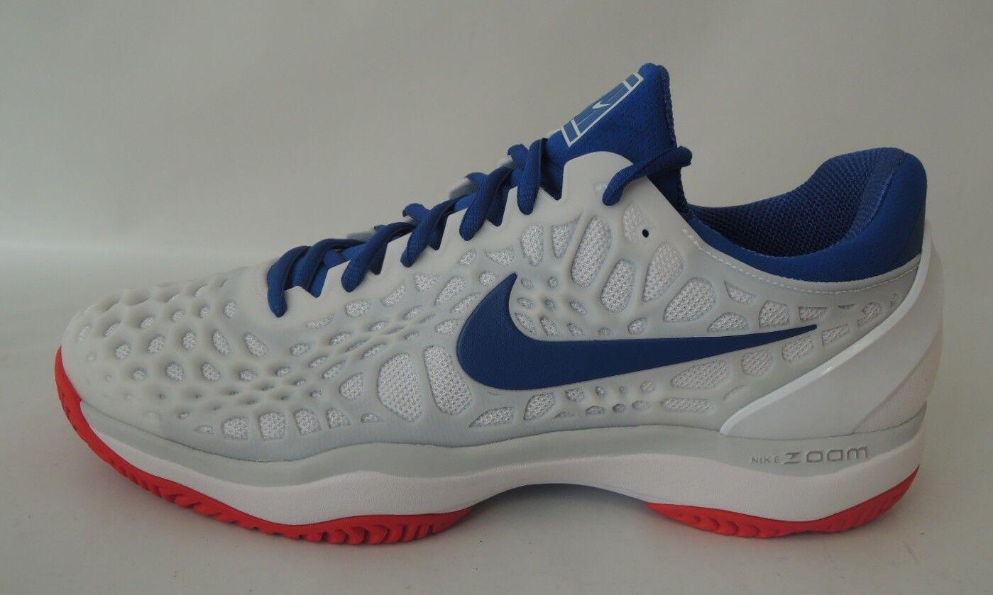 NEU Nike Zoom Cage 3 HC Men Gr. 44 Tennisschuhe Tennis Schuhe 918193-114