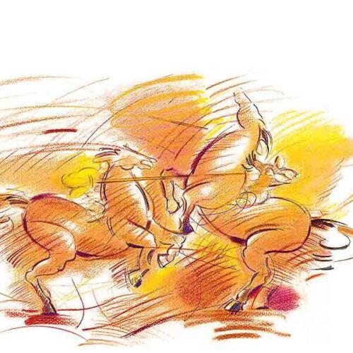 lasurorange Faber-Castell 110113 Künstlerfarbstift Polychromos 113