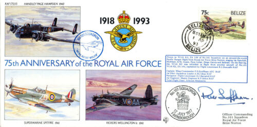 100 Only ! 101 Squadron 15 75 75th Anniverary of the RAF No RAF