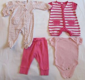 Baby Girls Bundle 0-3 Mois Jasper Conran Etc All In One Playsuit Leggings Gilet-afficher Le Titre D'origine