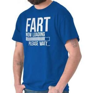 Fart-Loading-Please-Wait-Drole-Nouveaute-Nerd-Homme-T-shirts-T-SHIRTS-T-Shirts-T-Shirt