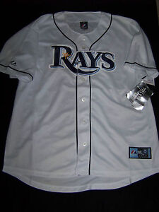 Majestic Men/'s Tampa Bay Rays #3 Evan Longoria T-Shirt NWT 2XL