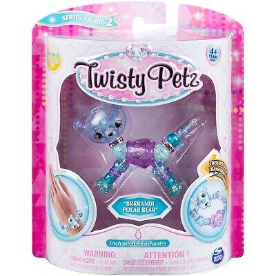 Twisty Petz Series 2 Super Ultra Rare •BRRRANDI POLAR BEAR• Twist Pet Bracelet