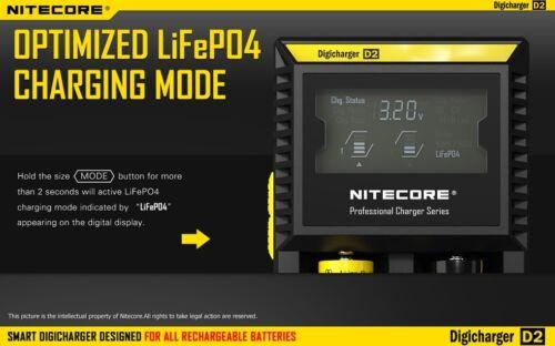 Nitecore P12 XM-L2 LED Flashlight 2015 Version w//D2 Charger /& 2300mAh 18650