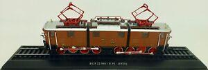 Ellok-Ec5-22-501-E91-1926-H0-1-87-Modele-sur-Socle-Atlas-7153106-Lih