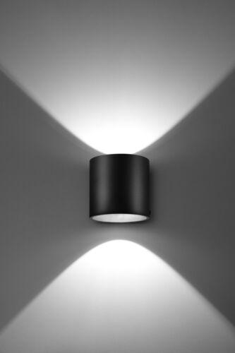 RODA 1 W BLACK Lamp Modern LIGHT LED ready G9 Wall Made In Eu HOME NL.0048