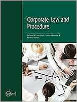 Corporate Law and Procedure Canada Preview
