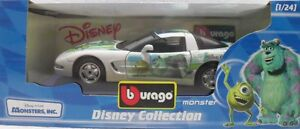 BURAGO-2222-DISNEY-COLLECTION-MONSTER-CHEVROLET-CORVETTE-ITALY-sc-1-24