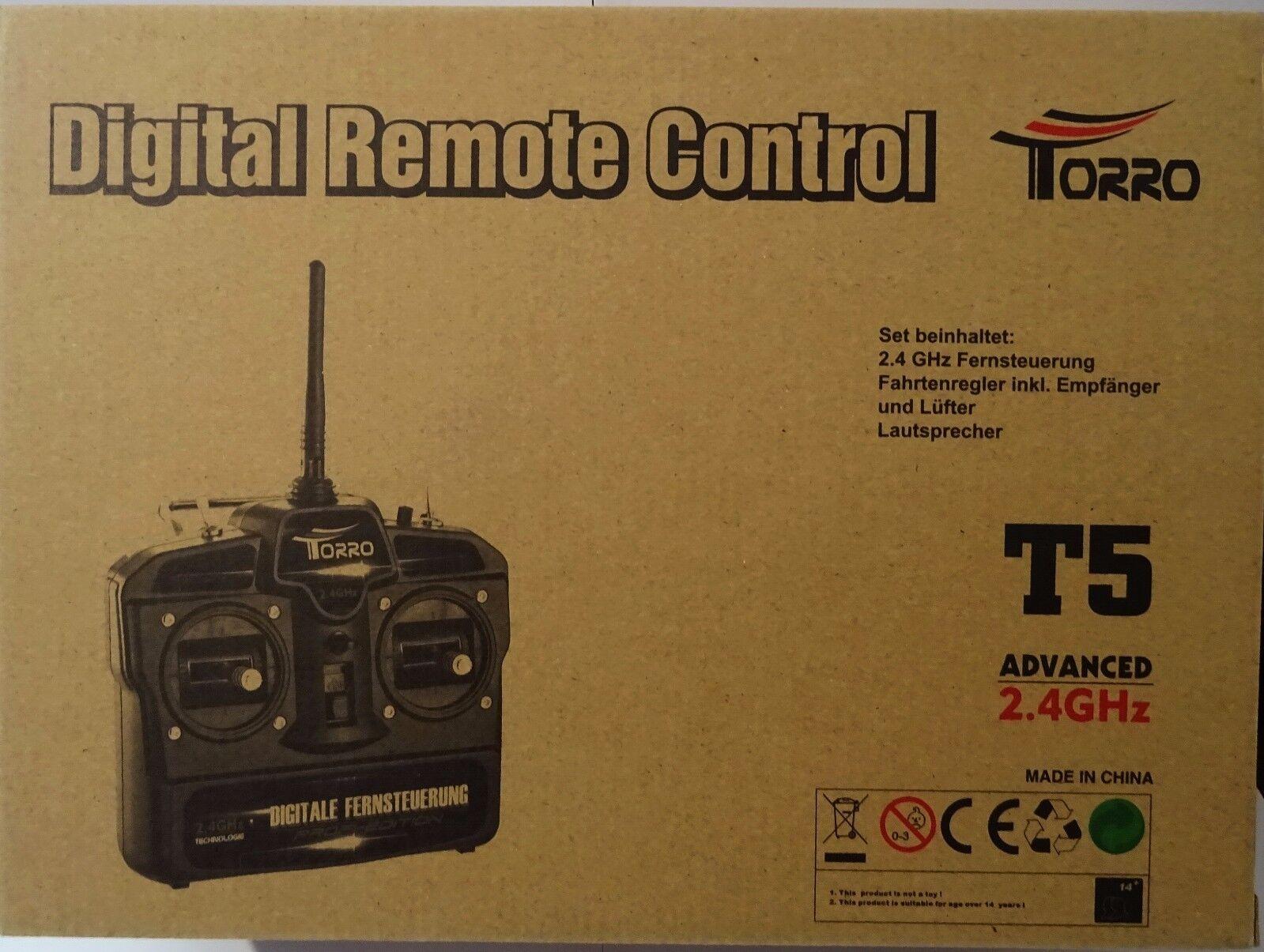 2,4 Ghz ComFemmede à Distance Jeu avec avec avec Fb ,Régulateur & Haut-Parleur, Torro , Neuf b62351