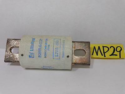 Lot of 2 LITTELFUSE L70S SEMICONDUCTOR FUSE 125 AMP