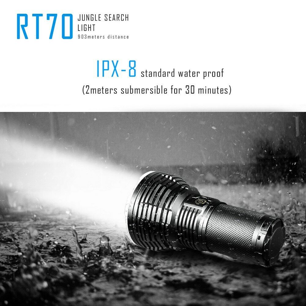 IMALENT  RT70 KIT CREE XHP70 LED 5500LM Waterproof Flood Spot Flashlight Torch  are doing discount activities