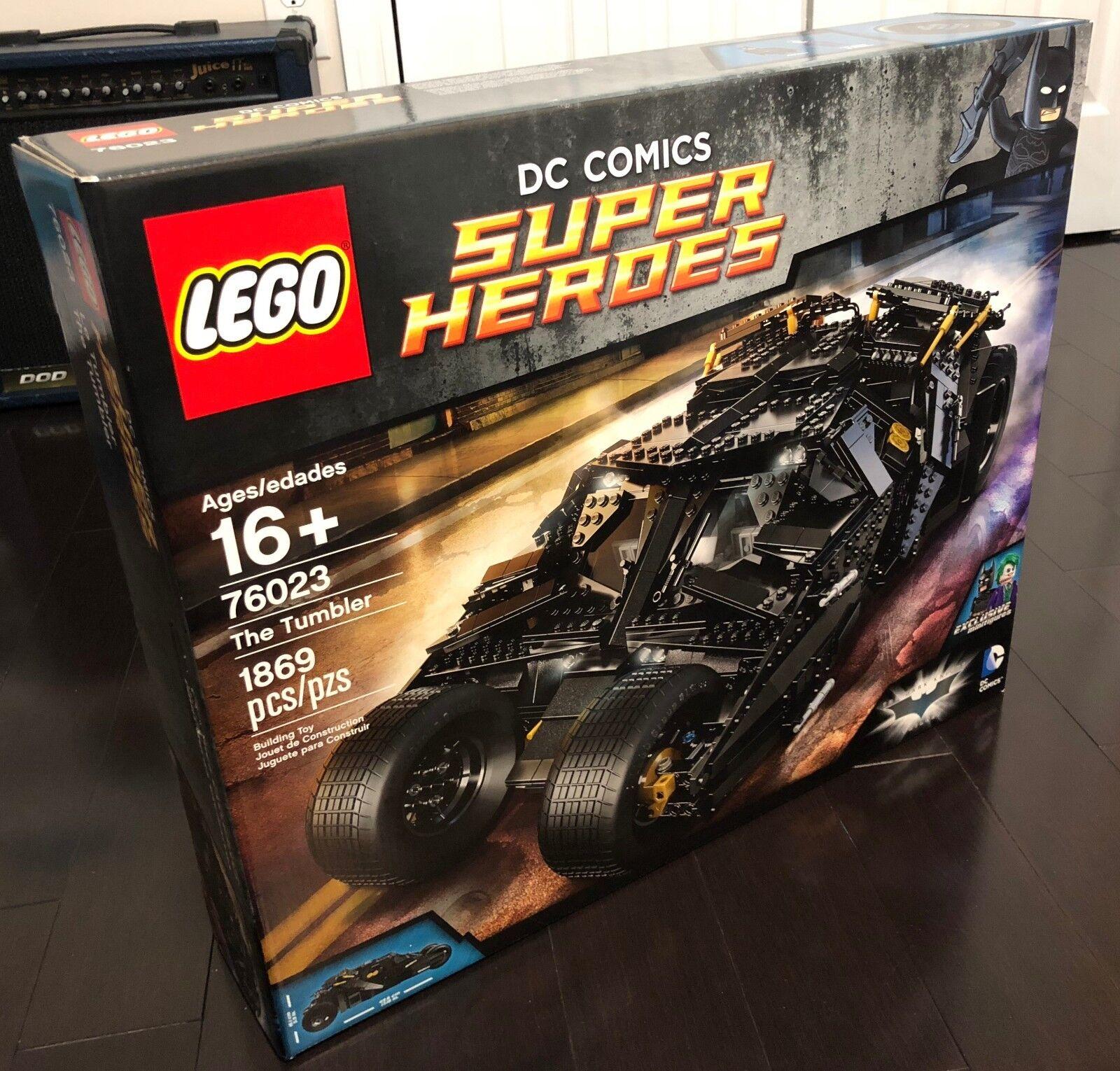 Lego Batman UCS El Vaso (76023)  totalmente Nuevo  Sellado  retirado