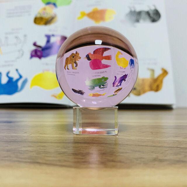 Details about Photography Crystal Ball Ornament Feng Shui Globe Divination  Quartz Magic Ball