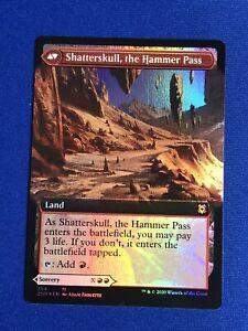 the Hammer Pass Foil Extended Art x1 Shatterskull Smashing //// Shatterskull