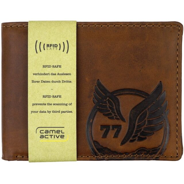 03b71b7242 Camel Active Nepal Wallet Geldbense Brown Brown for sale online | eBay