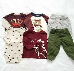 3 6 Months Baby Boy Clothes Lot Tops Pants Long Sleeve Fall Outfits Play Sets Ebay