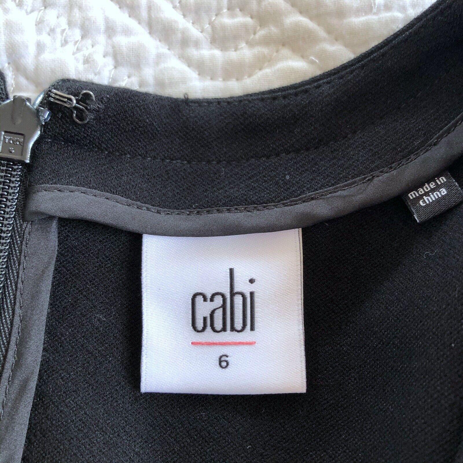 CAbi Claire Short Sleeve V Neck Sheath Dress Pont… - image 5
