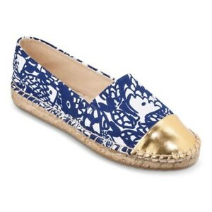 32c89158c35 NWT Lilly Pulitzer for Target Women s Espadrilles Upstream Size 10.5 ...
