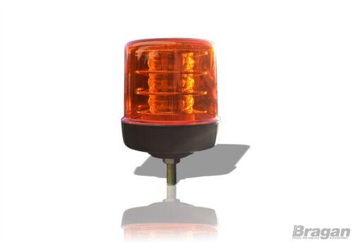 2x Lente Ámbar ámbar LED Estroboscópico Intermitente Faro Camión de recuperación Perno