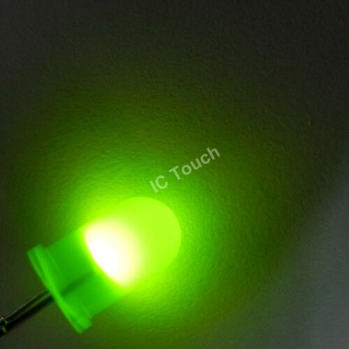 6value 300pcs 3mm Round Diffused Light LED Assortment Kit D3 R,Y,G,O,B,W