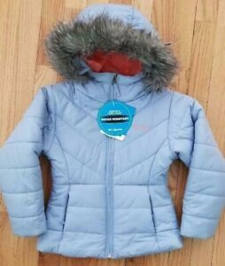 38c2ae77d Image is loading Columbia-little-Girls-Katelyn-Crest-Jacket-Hooded-Insulated -