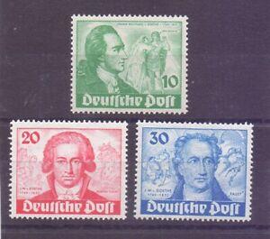 Berlin-1949-Goethe-MiNr-61-63-postfrisch-geprueft-Michel-320-00-221