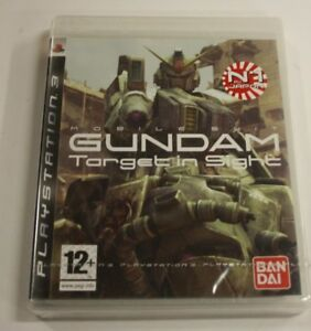 JEU-SONY-PS-3-Gundam-Target-In-Sight-NEUF