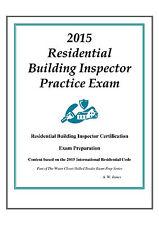 2015 ICC Residential Inspector Practice Exam Bundle on USB Flash Drive