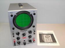 Eico Model 460 Oscilloscope Dc Wide Band Testing Equipment Electronics Test Unit