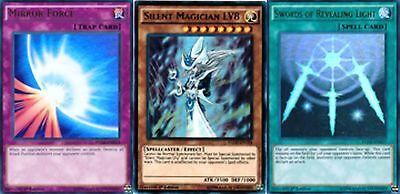 Silent Magician LV8 Dark Renewal Swords of Reveal 1st YGLD YUGIOH All Foils