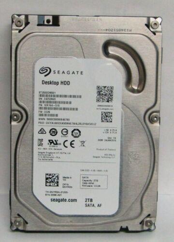 "Dell NYR3N Seagate 3.5/"" 2TB 7200RPM 64MB 6Gbps SATA HDD Hard Drive ST2000DM001"