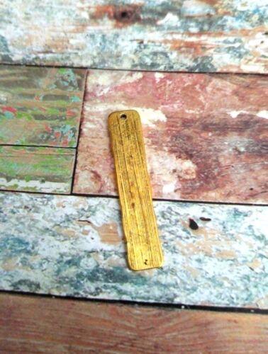 Morse Code Pendant HOPE Charm Gold Bar Inspirational Findings Dots