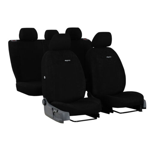 Autositzbezüge für Audi Q5 I 08-16 Schwarz Komplettset Schonbezüge Sitzbezüge