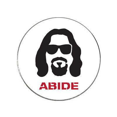 Big Lebowski The Dude Abides Golf Ball Marker Gift Ebay