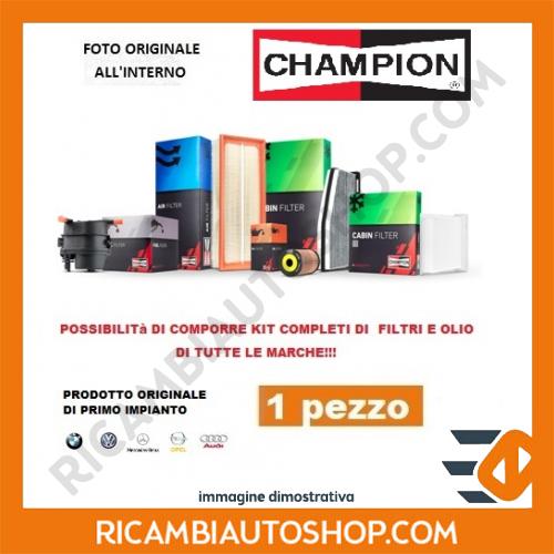 FILTRO ARIA CHAMPION MERCEDES SPRINTER 2-T FURGONATO 211 CDI KW:80 2000>2006 CAF